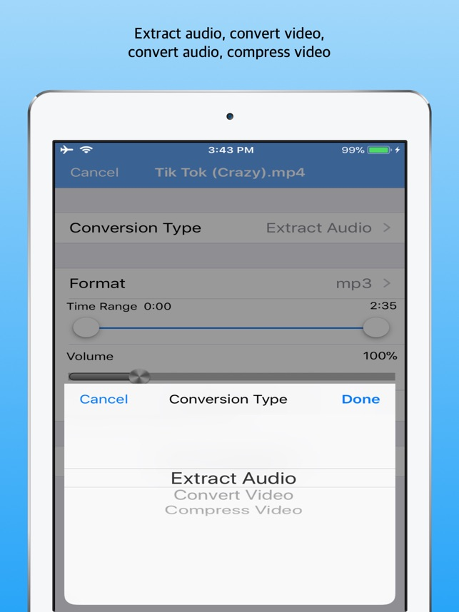 Media Converter - video to mp3 on the App Store