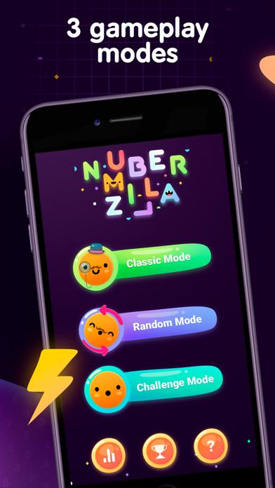 Numberzilla - Number Math Game screenshot 4