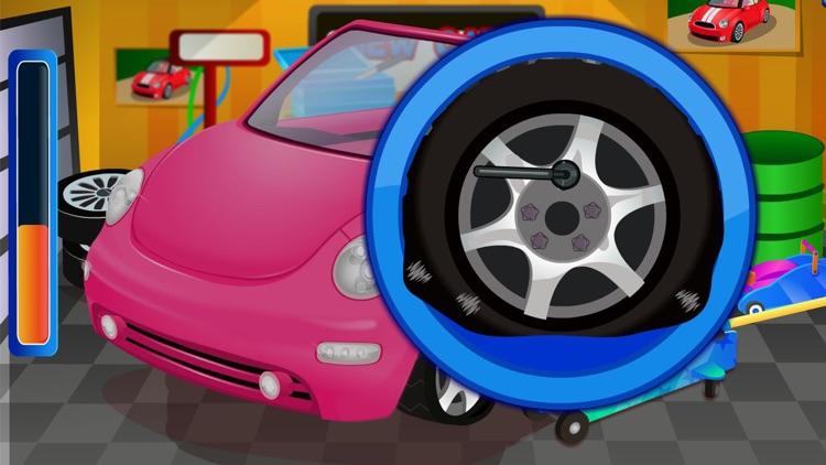 Super car wash game & mechanic screenshot-3