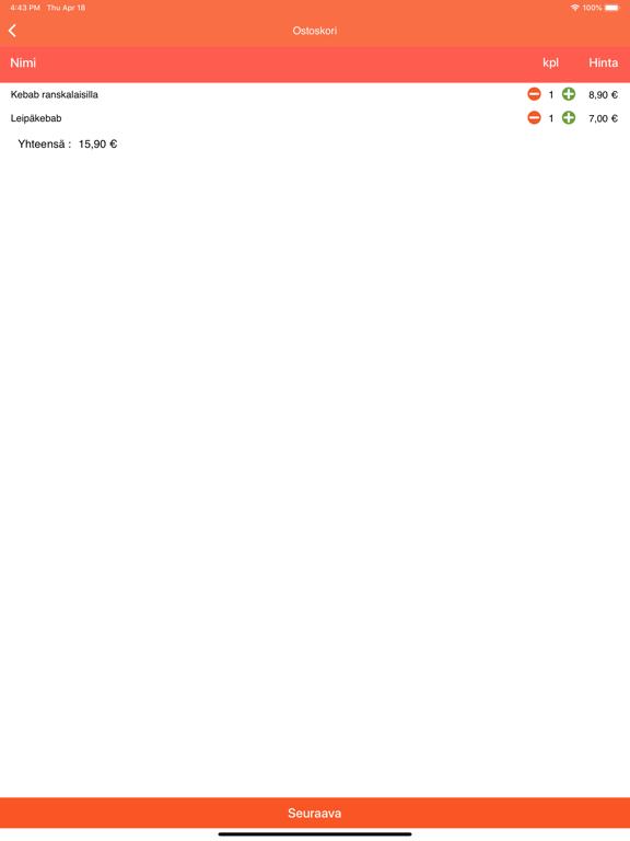 Ravintola Point screenshot 5