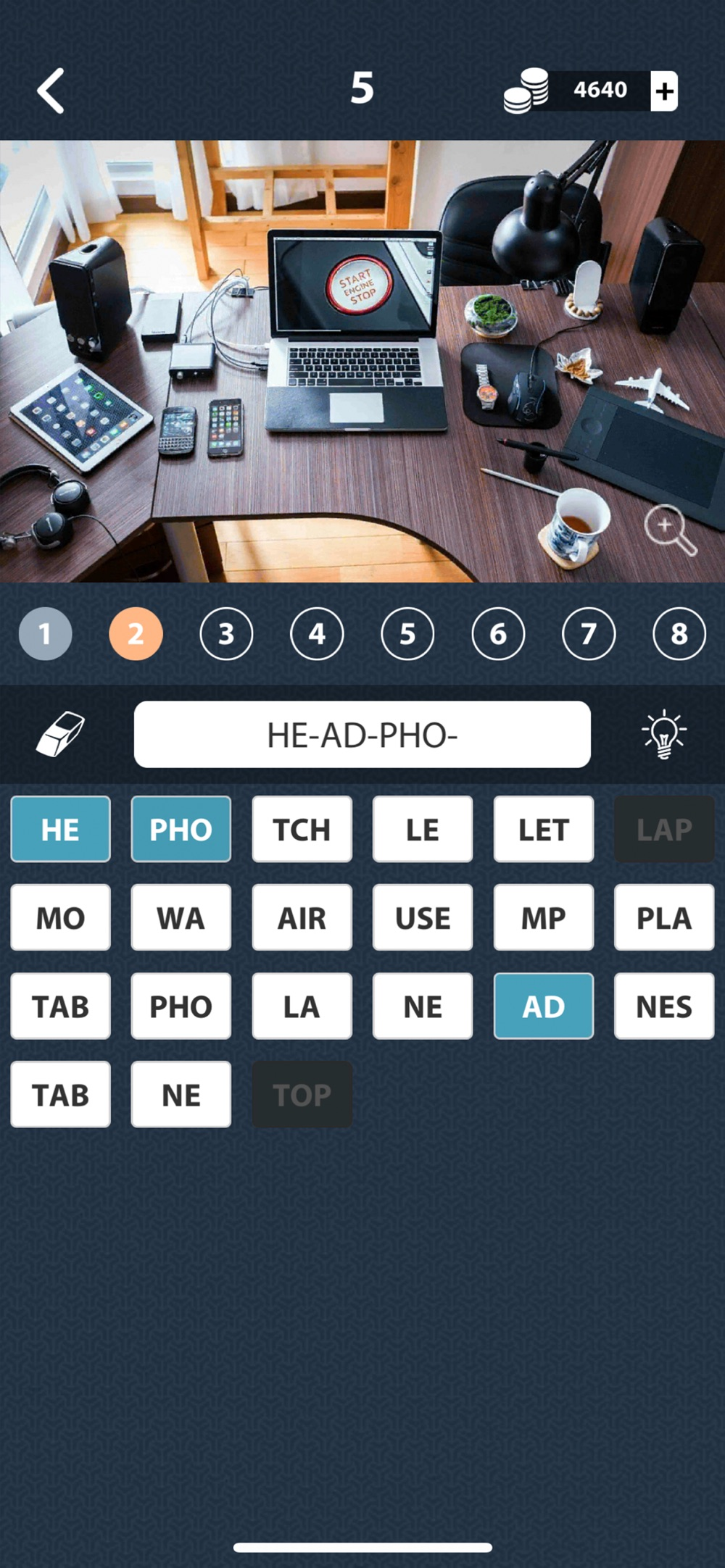 1 Photo Word Apart: search Cheat Codes