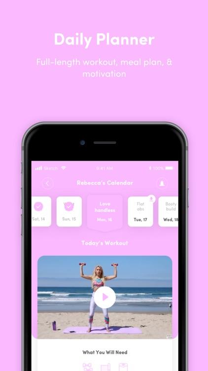 BURN by Rebecca Louise Fitness screenshot-6