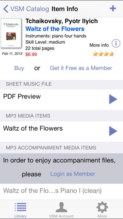 Virtual Sheet Music screenshot-3