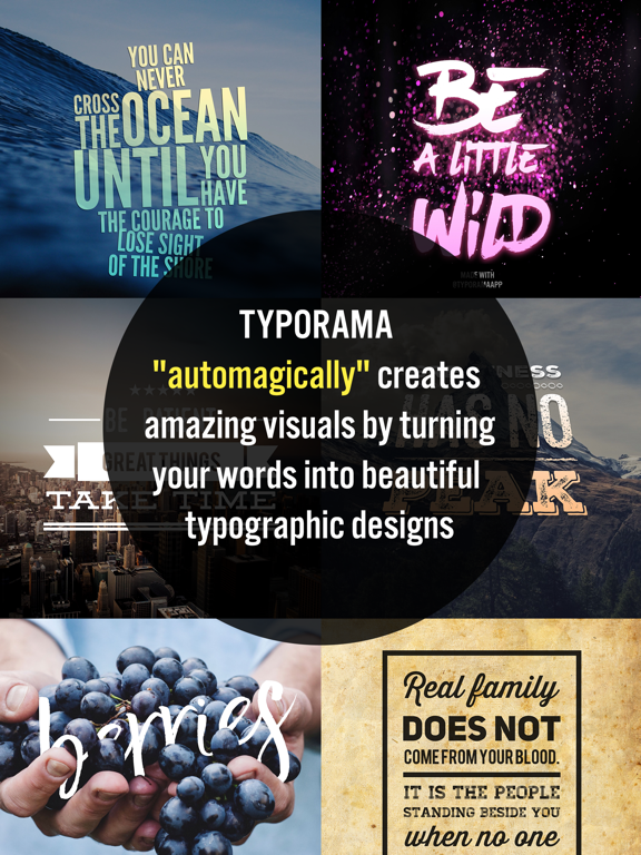 Typorama - Typography Generator, Cool Fonts Design and Instant Creative Caption Text over Photo Editor screenshot