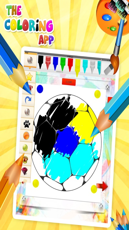 Coloring Book Learn Colors screenshot-3