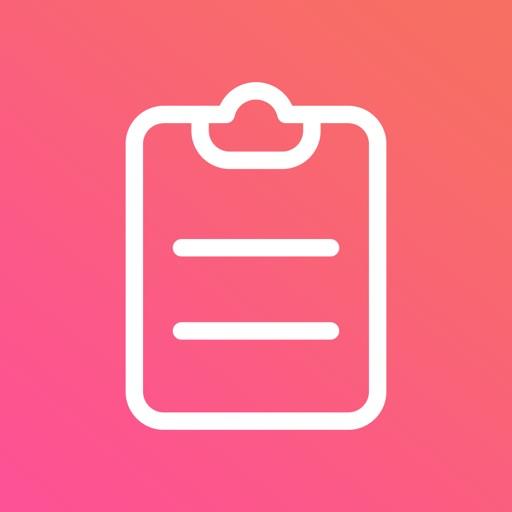 Clippy - copy, edit & share icon