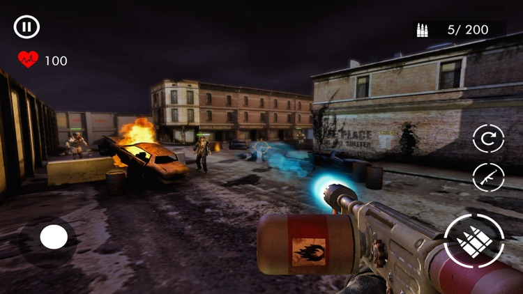 Dead Zombie Survival War - FPS screenshot-3