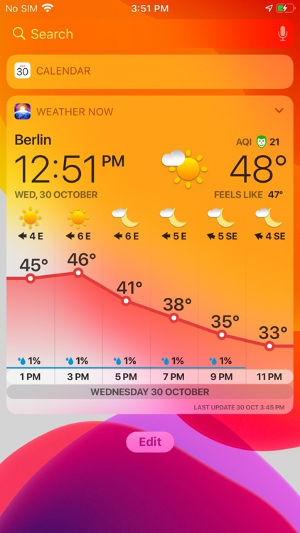 WEATHER NOW ° - daily forecast screenshot-7