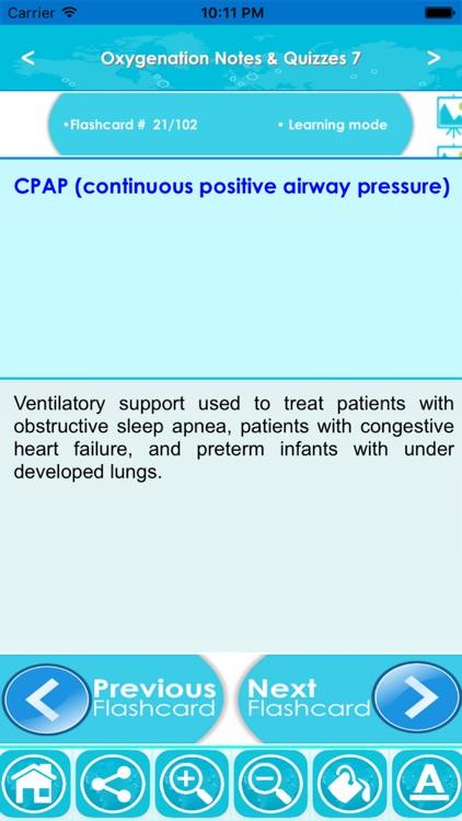 Oxygenation Exam Review : Q&A screenshot-3
