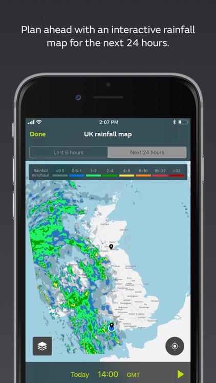 Met Office Weather Forecast screenshot-4