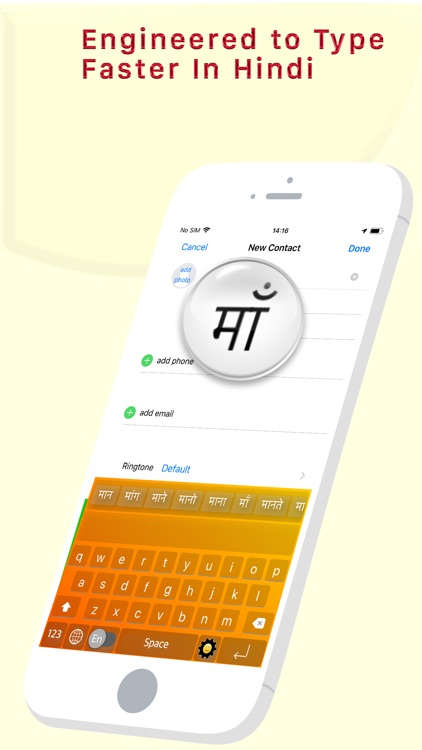 Hinglish Keyboard - Hindi Keys screenshot-5