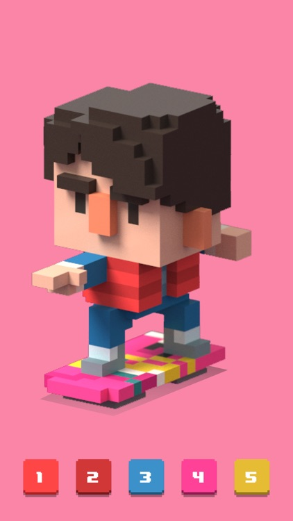 Pixel Art 3d - Color by Number screenshot-3