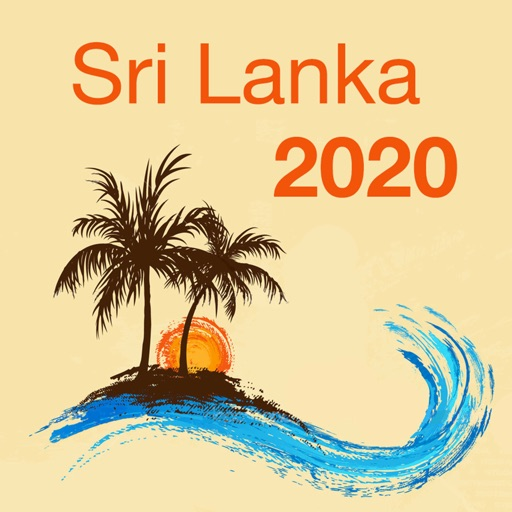 Sri Lanka 2020 — offline map
