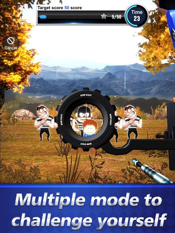 iPad Image of Archery Go