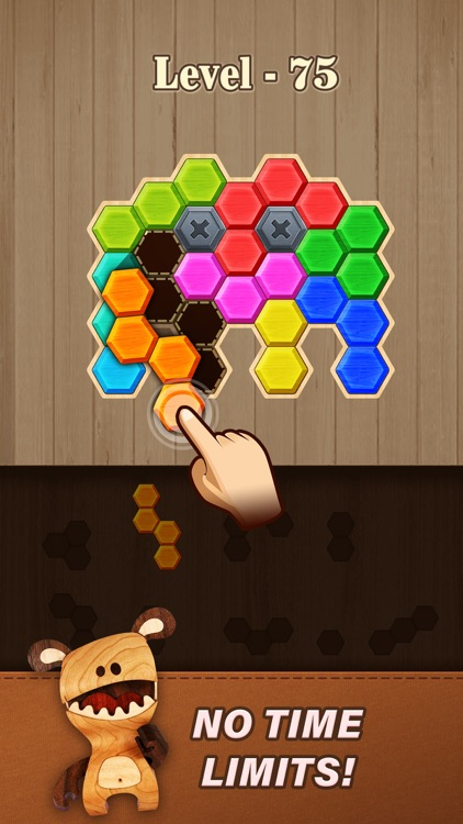 Block Hexa Puzzle: Wooden Game screenshot-4