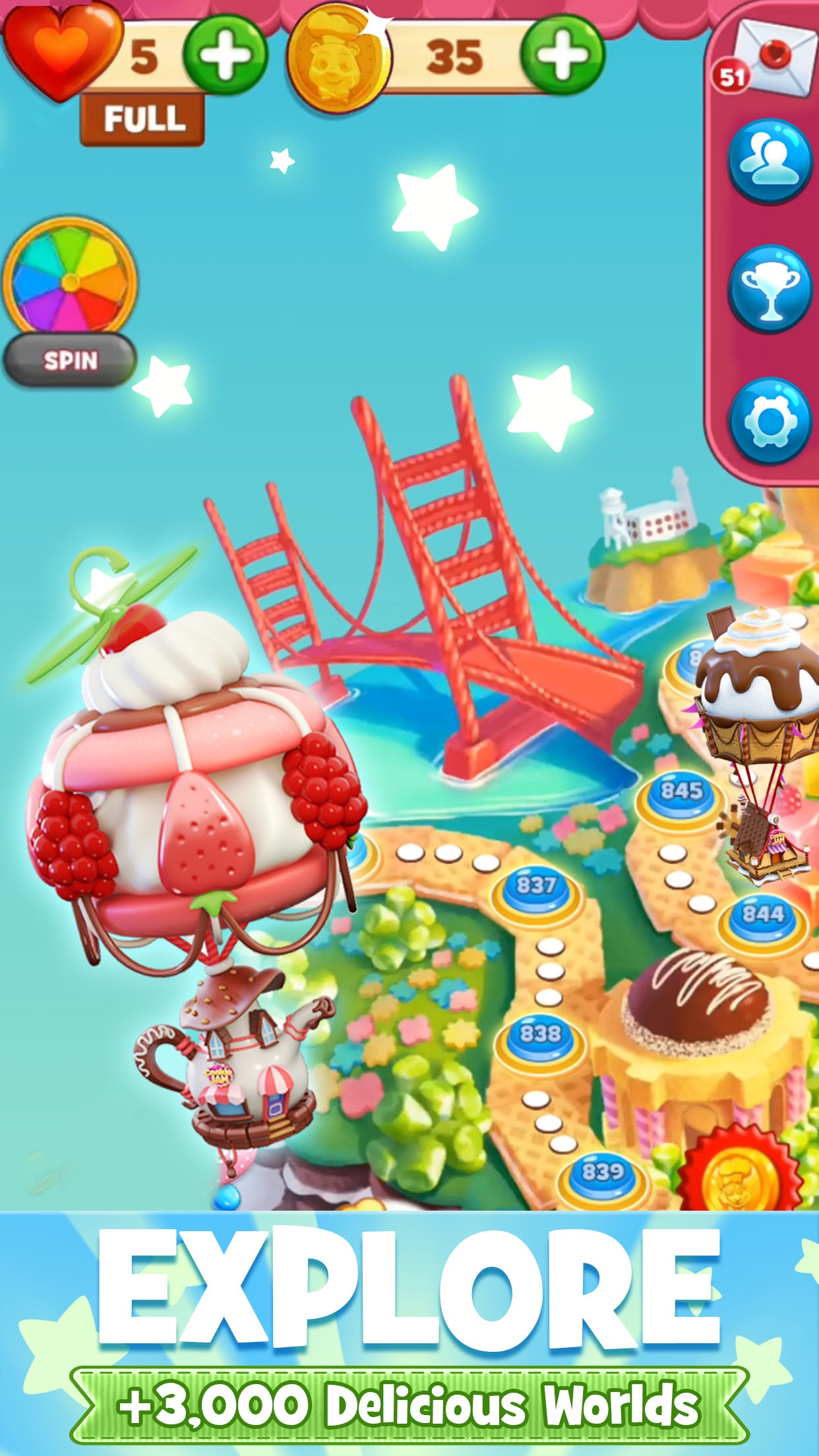 Cookie Jam: Top Match 3 Game Screenshot