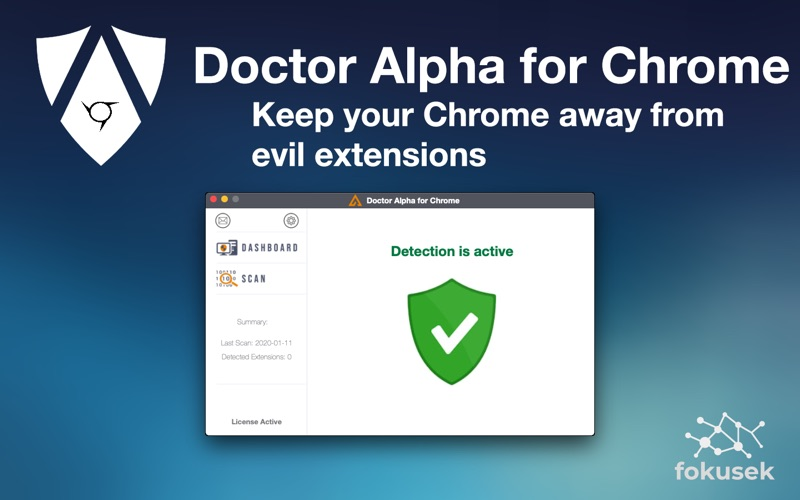 Doctor Alpha for Chrome for Mac