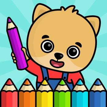 Kinder kleurboek voor peuters