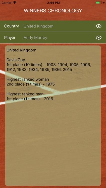 World Tennis Winners: Open Era screenshot-5