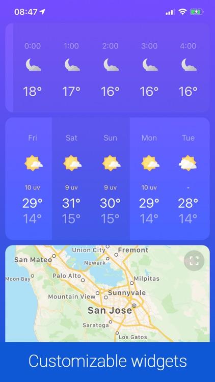Weather ℉ screenshot-3