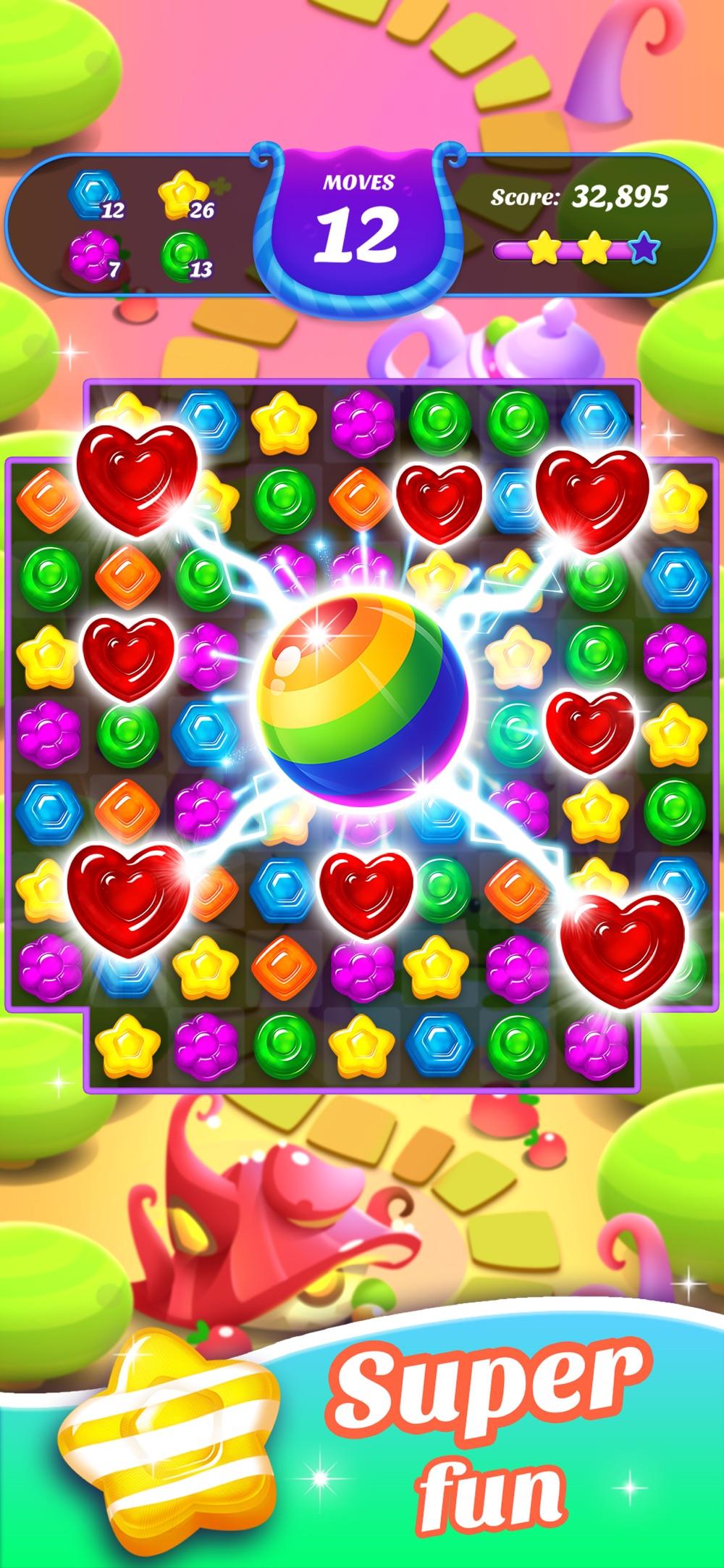 Gummy Candy Blast!Match 3 Game Cheat Codes