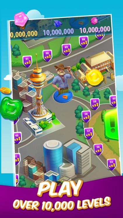 Gummy Drop! – A Match 3 Game screenshot-3
