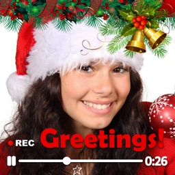 Christmas Camera Video Cards