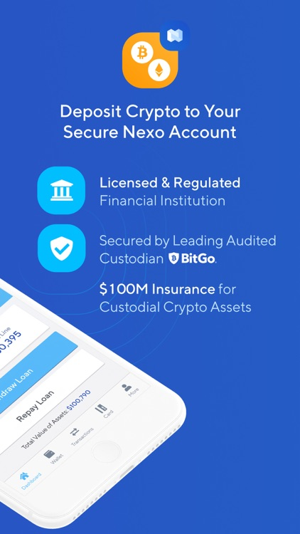 Nexo - Crypto Banking Account