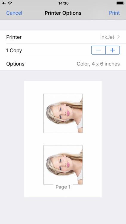 Passport Photo - ID Photo screenshot-3