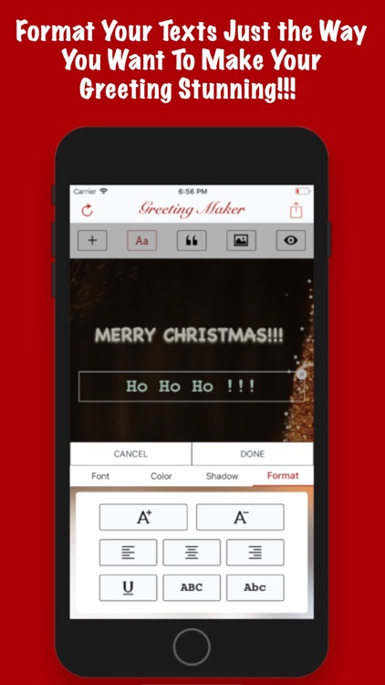 Greeting Maker-Holiday Invite screenshot-5