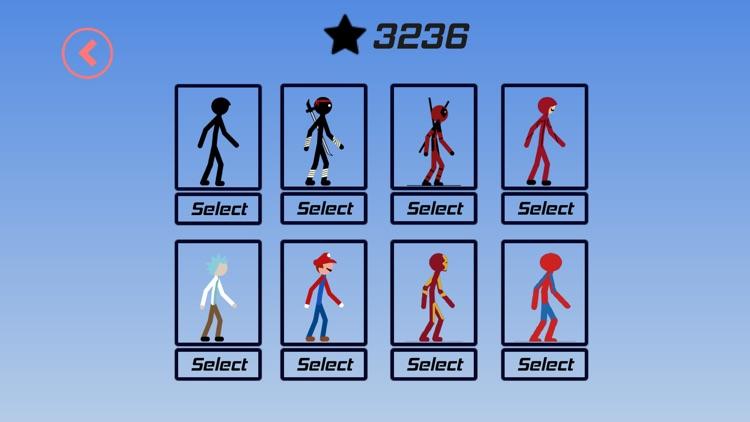 Stickman Parkour - Ninja Race screenshot-9