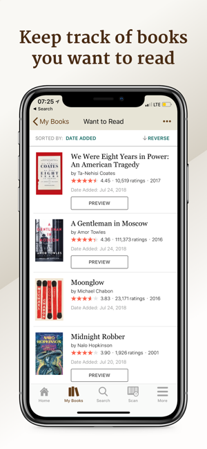 ?Goodreads: Book Reviews Screenshot