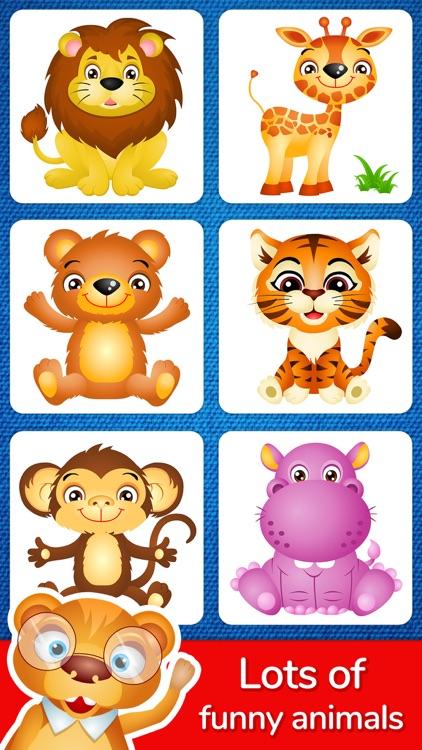 123 Kids Fun Puzzle Blue Games screenshot-9