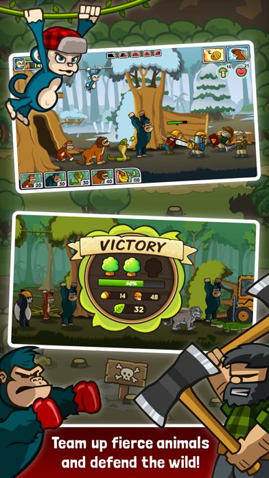 Lumberwhack: Defend the WildCaptura de pantalla de1