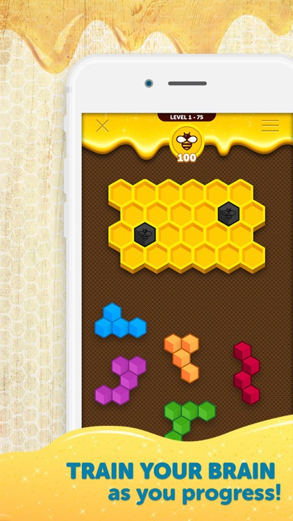 Hexa Buzzle screenshot-4