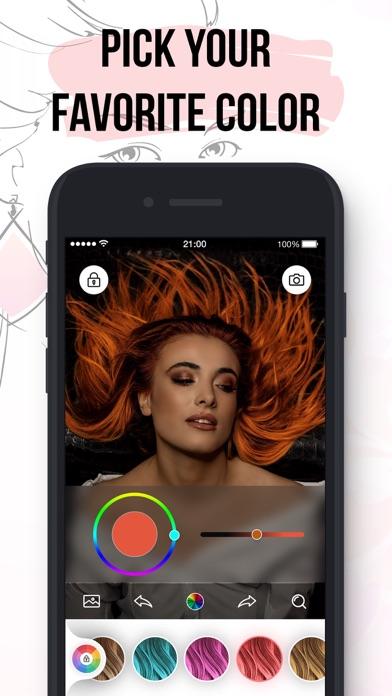 Hair Color Dye Change.r App
