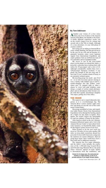 Cruise Travel Magazine screenshot-4
