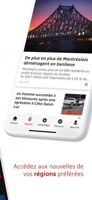 App Store Radio Canada Info
