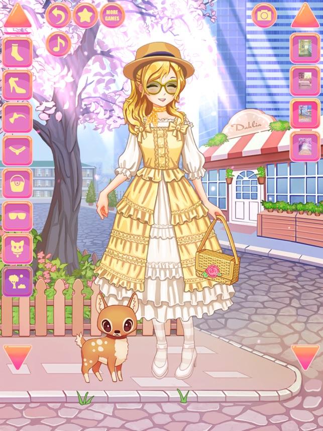 Anime Y Kawaii Vestir Chicas En App Store