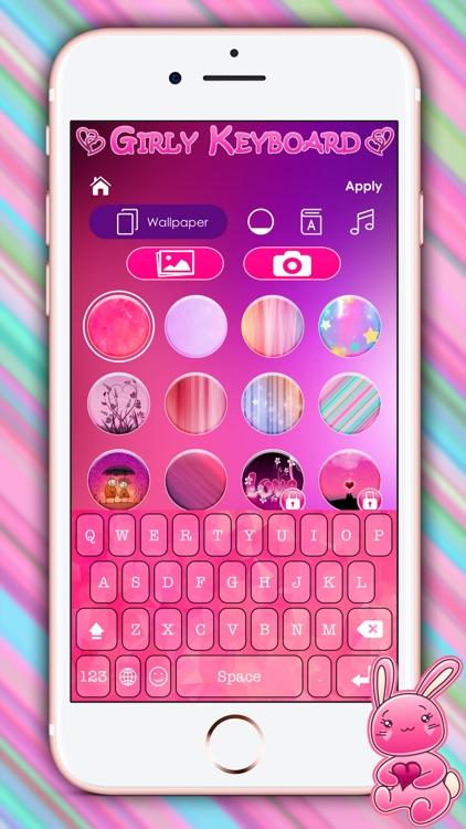 Cute Girly Keyboard Themes