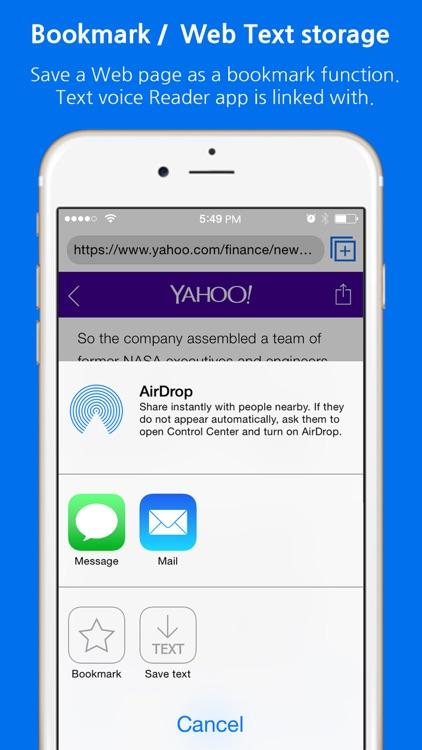 VoiceWeb by RunNGunSoft screenshot-4
