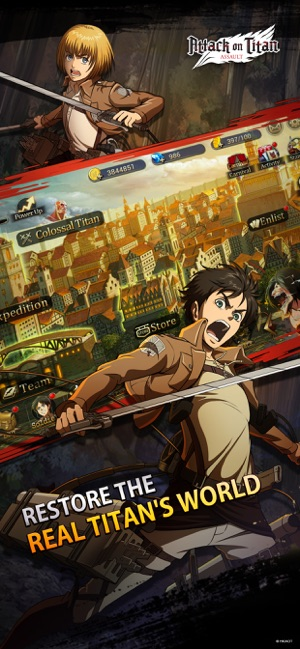Hack Game Attack on Titan: Assault ipa free