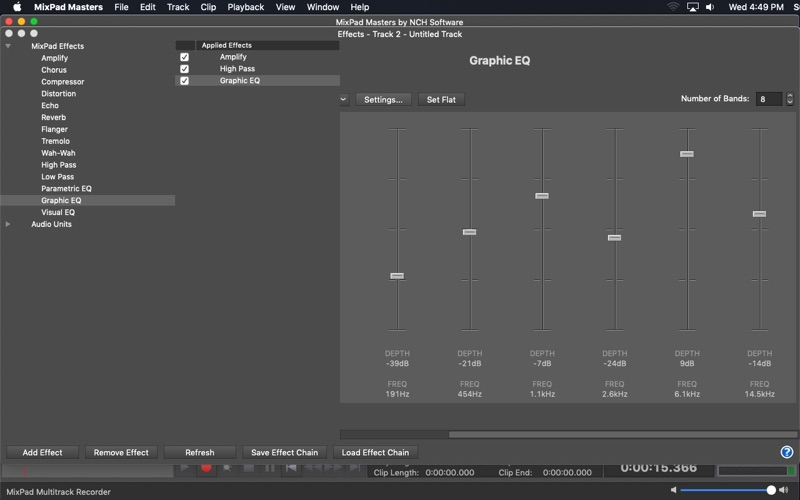 MixPad Screenshot