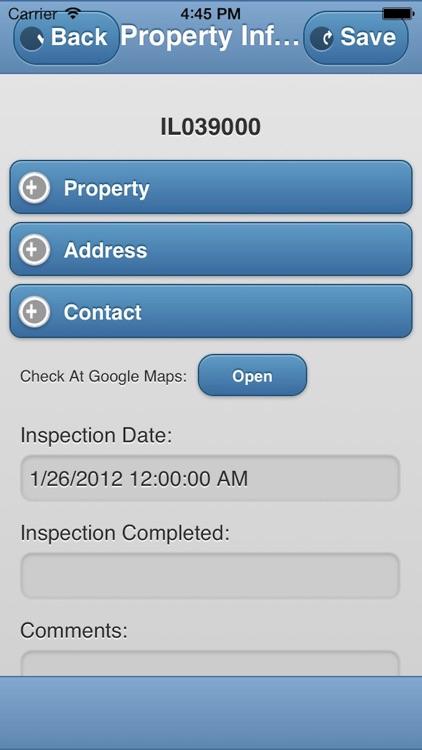 iUPCS Inspection