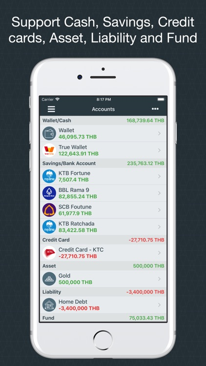 Money Easy Lite screenshot-4