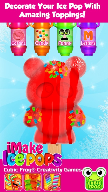 Popsicle Maker Ice Cream Games screenshot-3