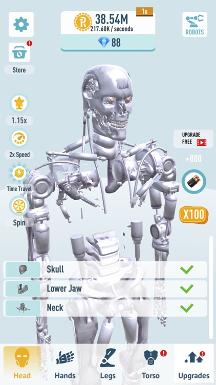 Idle Robots - Robo Clicker