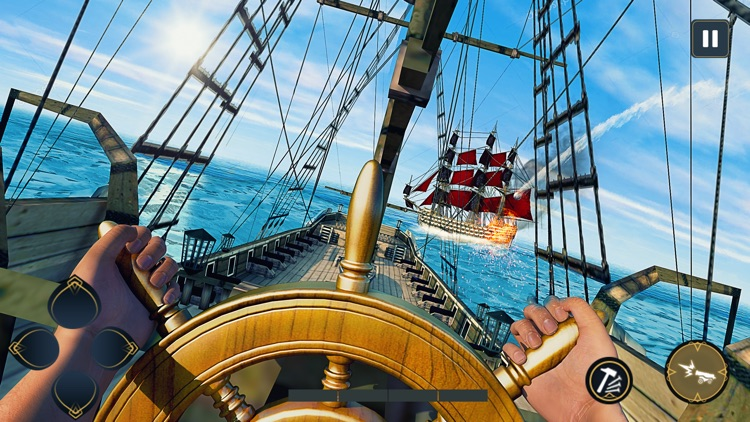 Pirates Ship Battle Simulator screenshot-0
