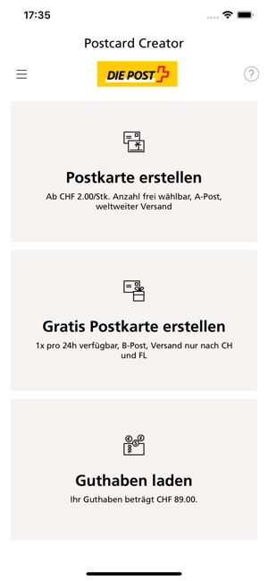 Digitale postkarte kostenlos