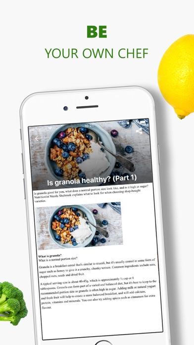 Healthy Recipes, Tasty Food Screenshot